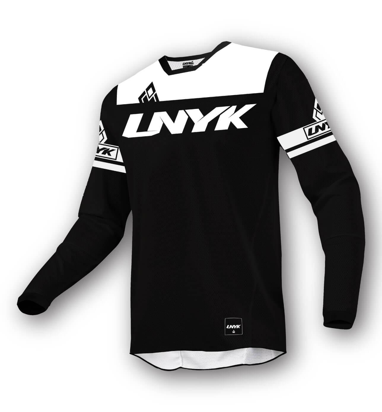 Unyk Mx Pionyr Motocross Jersey Trikot Schwarz